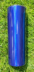 Blå Metallic