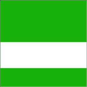 Grön/vit