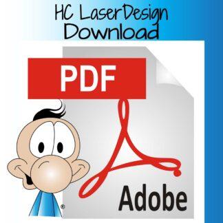Digitala mönster för laser